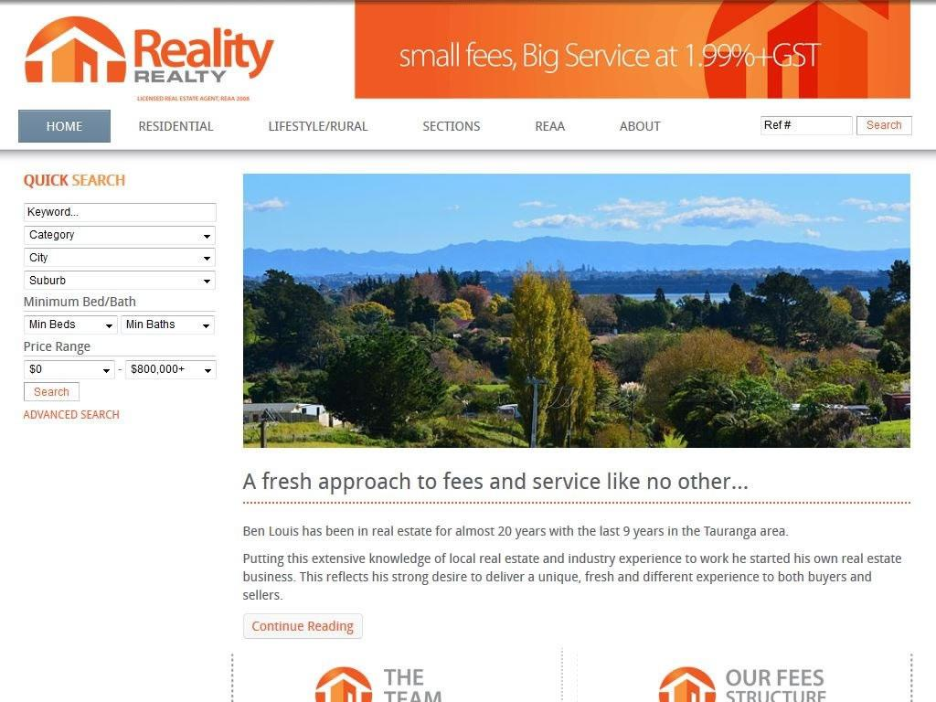 Reality Realty Real Estate