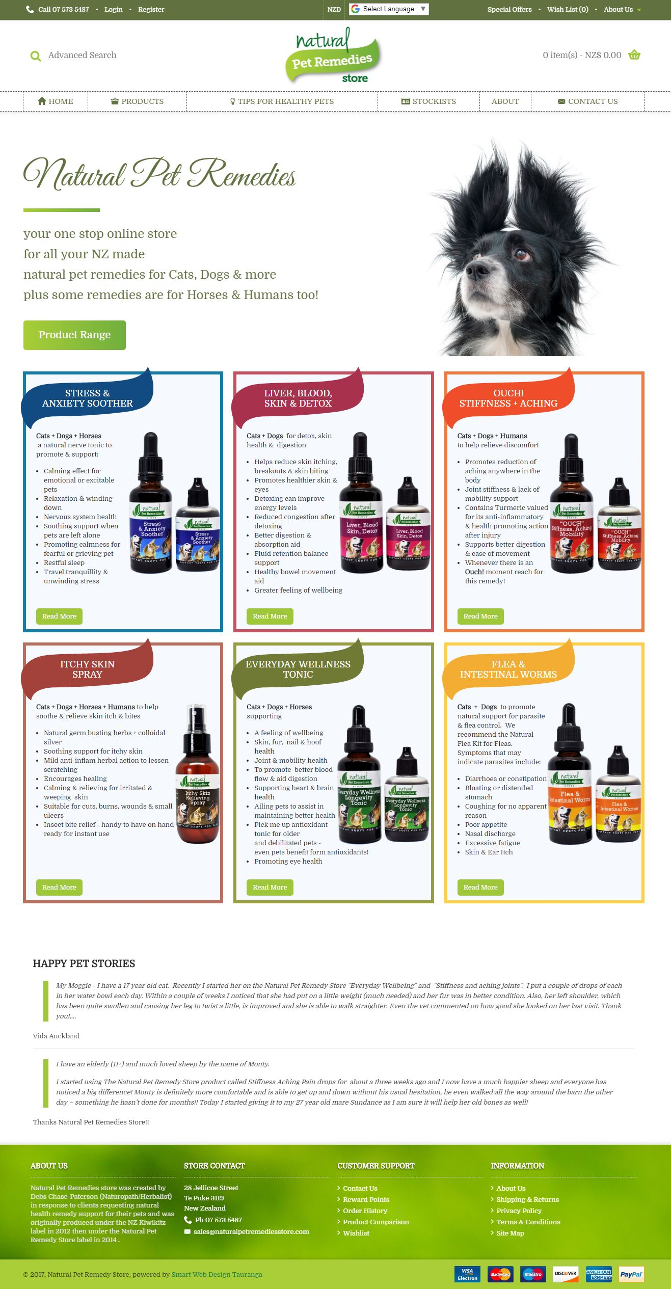 Natural Pet Remedies Store