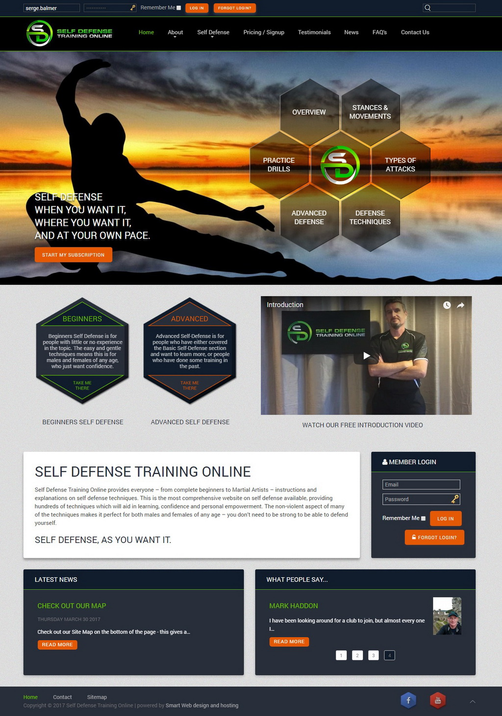 Self Defense Training Online